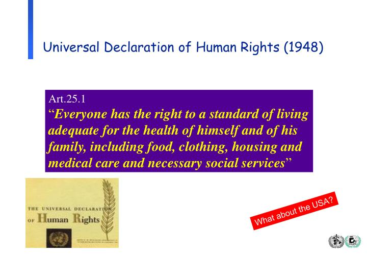 Universal Declaration of Human Rights (1948)