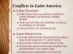 conflicts in latin america1