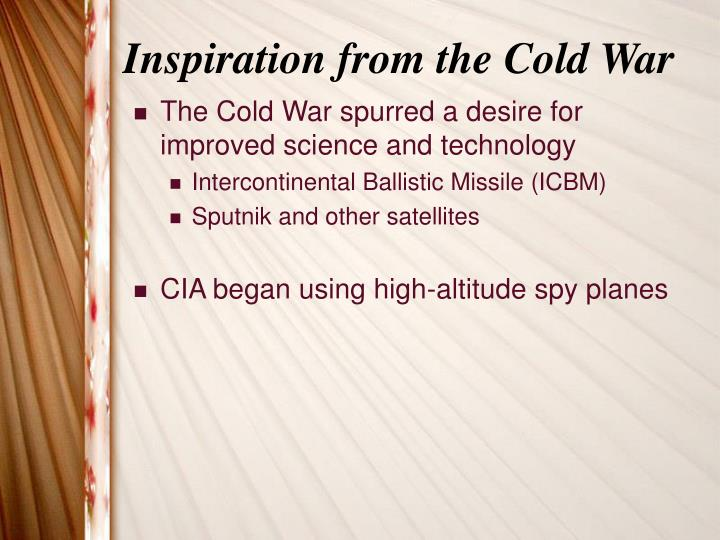 Inspiration from the Cold War