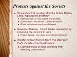 protests against the soviets1