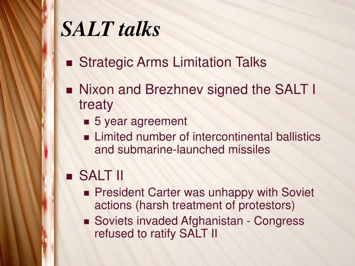 SALT talks