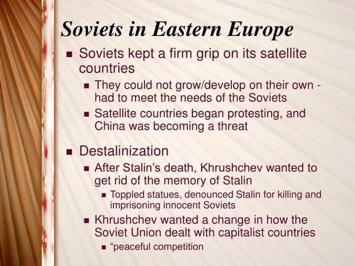 Soviets in Eastern Europe