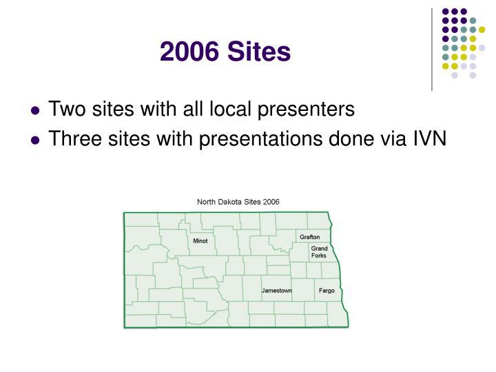 2006 Sites