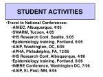 student activities2