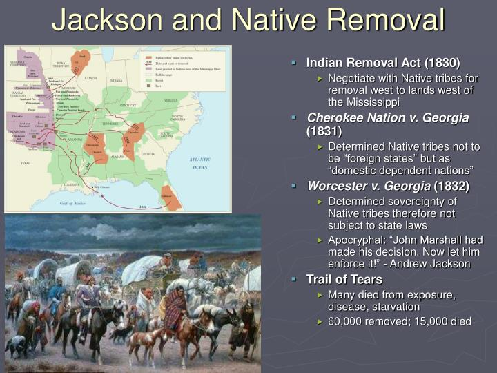 Jackson and Native Removal