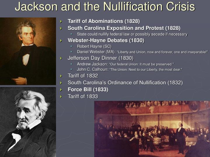 Jackson and the Nullification Crisis