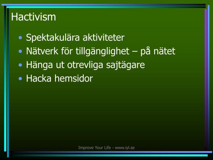 Hactivism