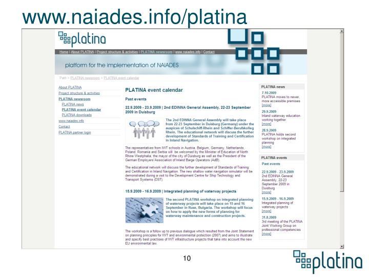www.naiades.info/platina