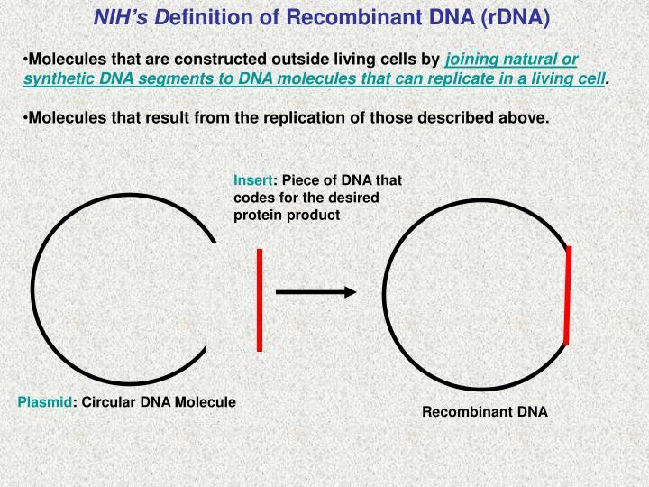NIH's D