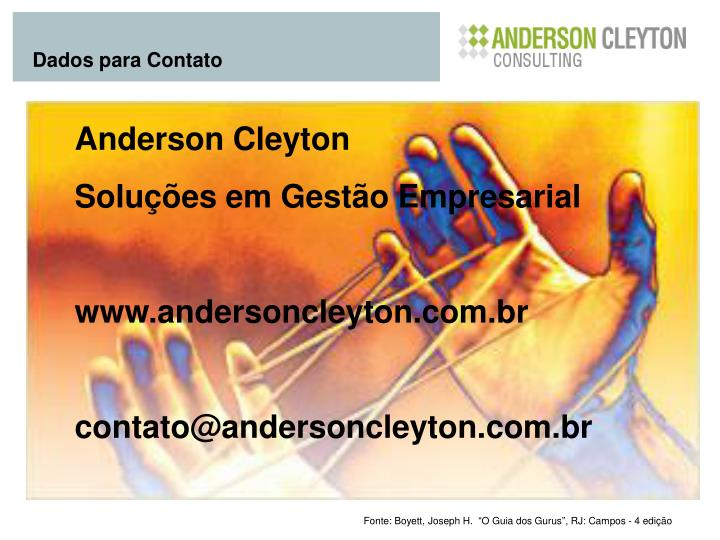 Anderson Cleyton