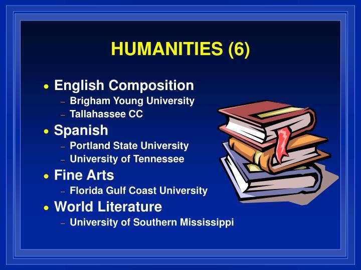 HUMANITIES (6)