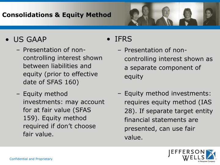 Consolidations & Equity Method