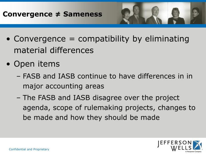 Convergence ≠ Sameness