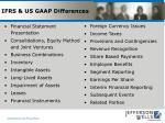 ifrs us gaap differences