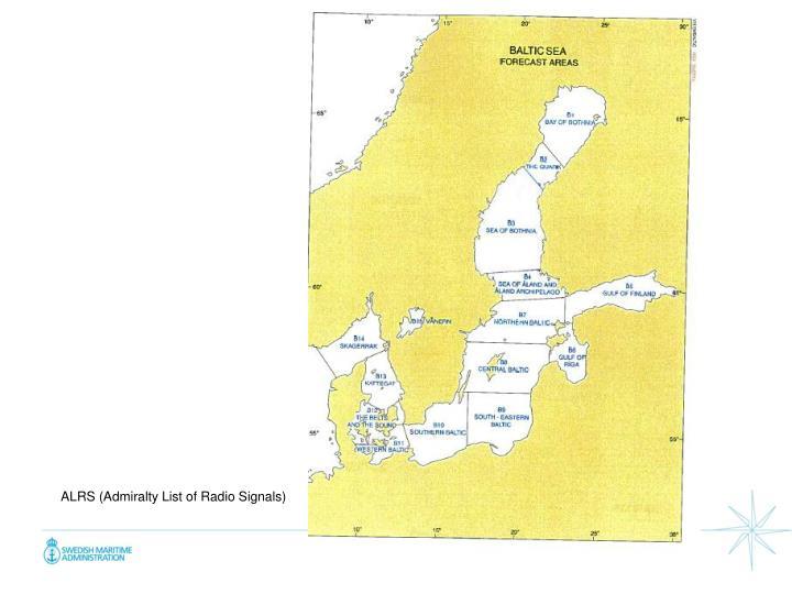 ALRS (Admiralty List of Radio Signals)