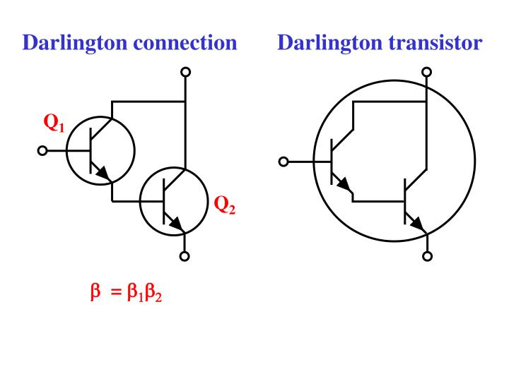 Darlington connection