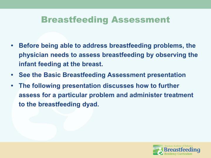 Breastfeeding Assessment