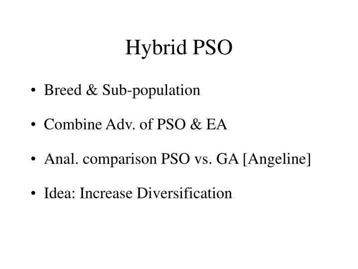 Hybrid PSO