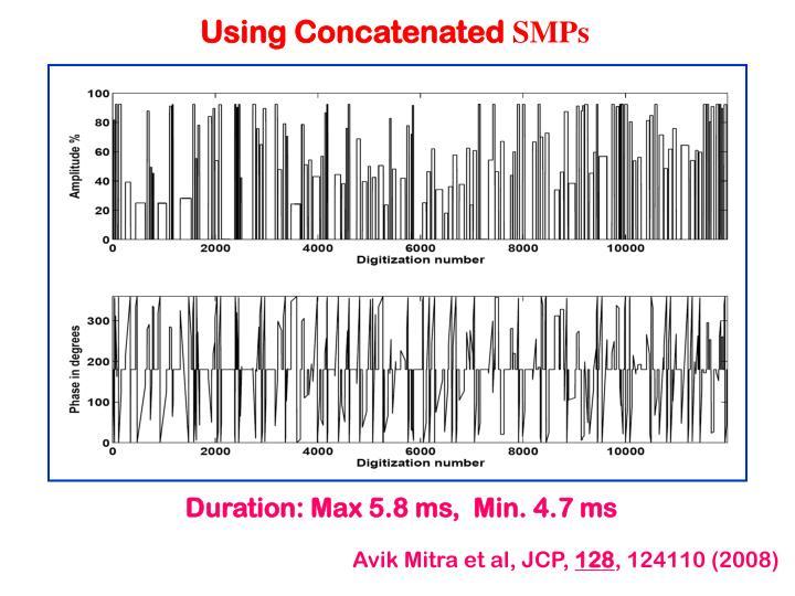 Using Concatenated