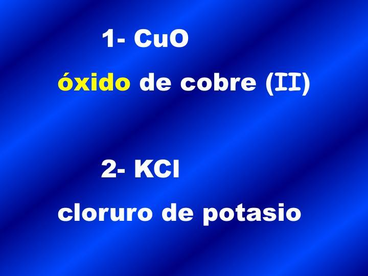 1- CuO