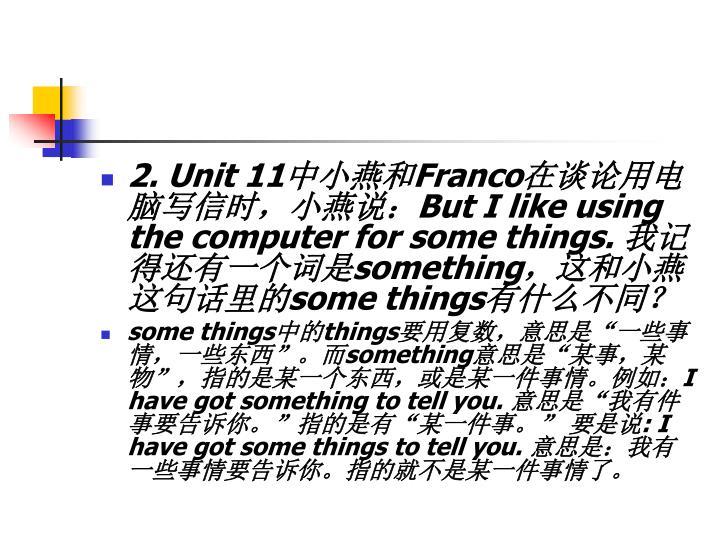 2. Unit 11