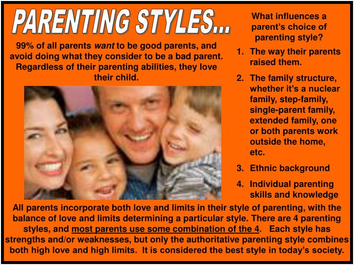 PARENTING STYLES...