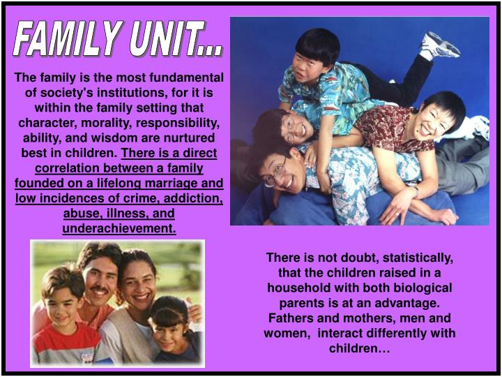 FAMILY UNIT...