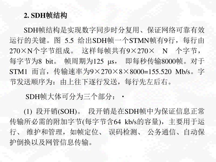 2. SDH