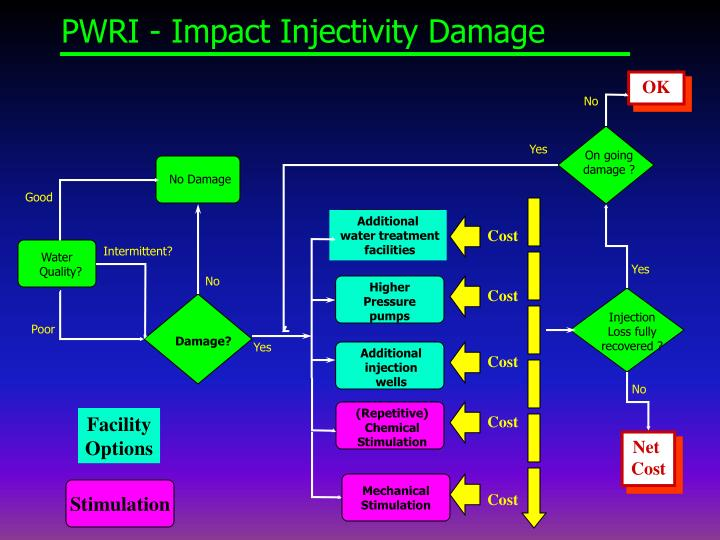 PWRI - Impact Injectivity Damage