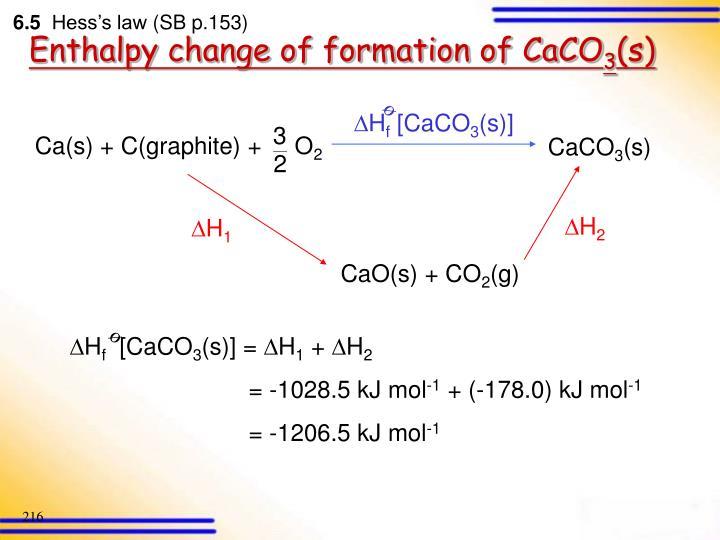 Ca(s) + C(graphite) +     O