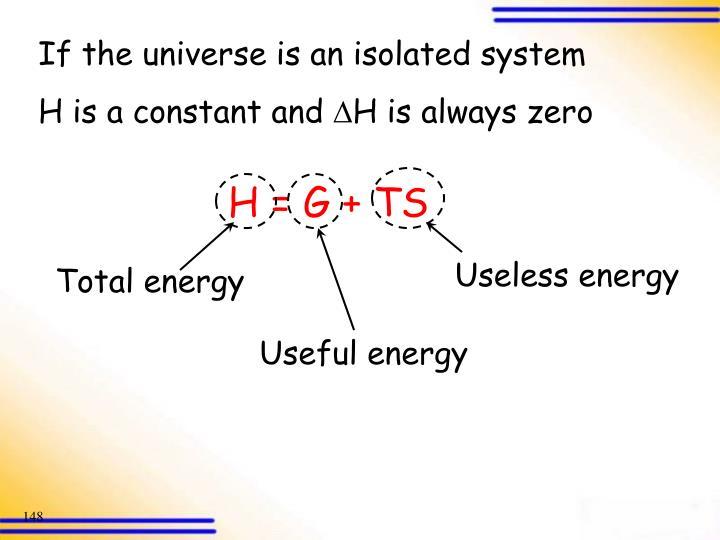 Useless energy