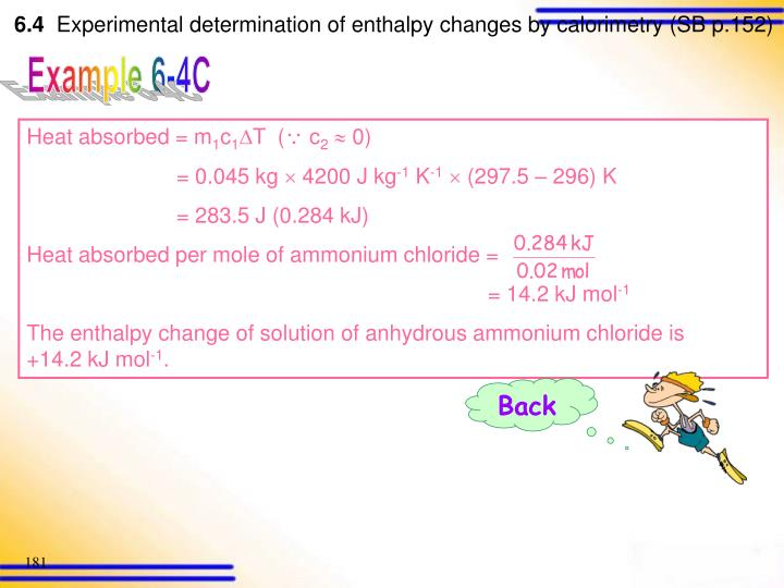 Heat absorbed = m