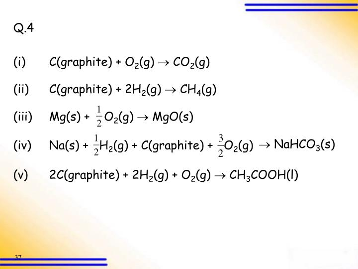 (iii)Mg(s) +    O