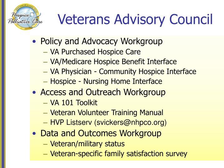 Veterans Advisory Council