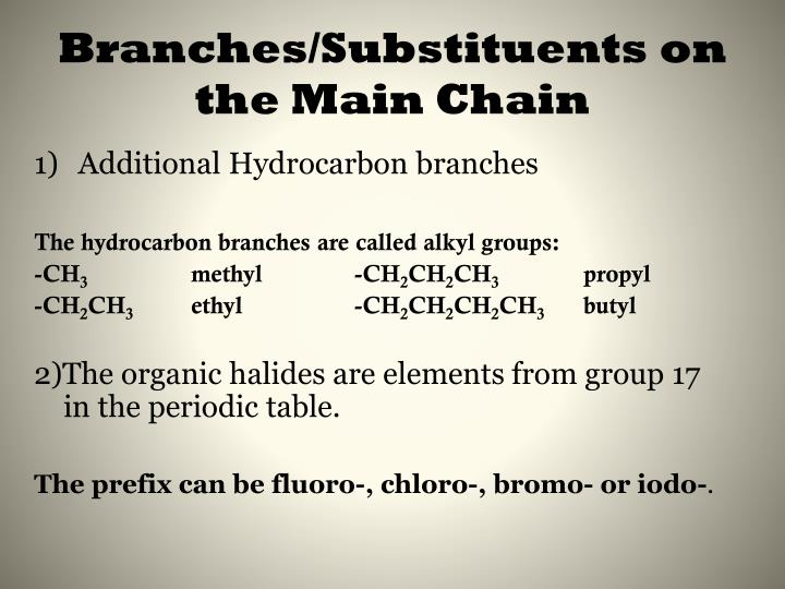 Branches/