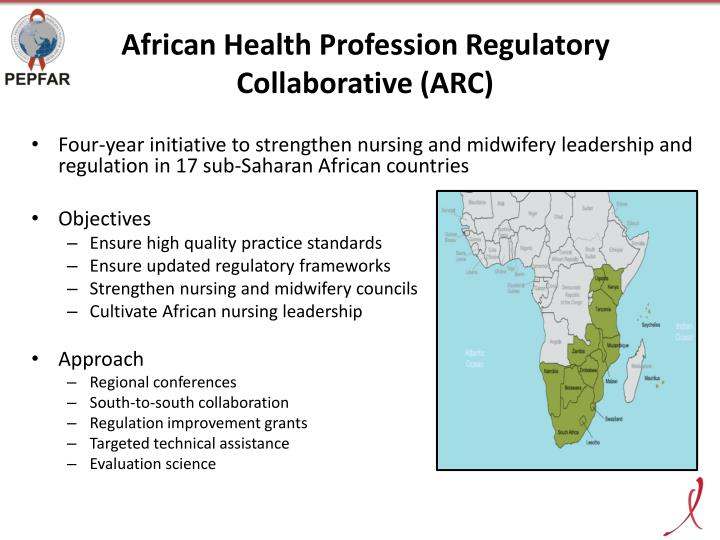 African Health Profession Regulatory Collaborative (ARC)
