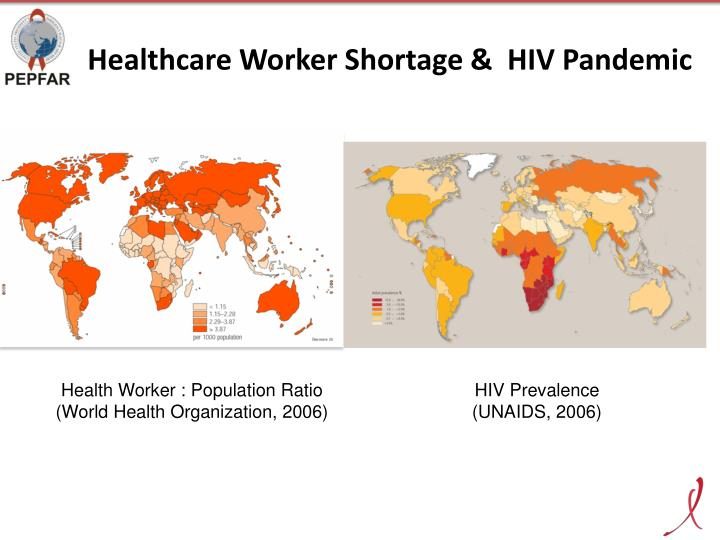 Healthcare worker shortage hiv pandemic