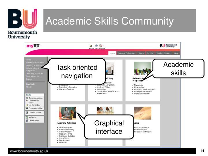 Academic Skills Community