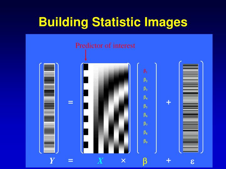 Building Statistic Images