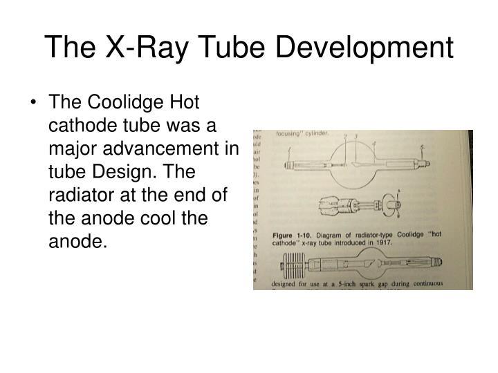 The X-Ray Tube Development