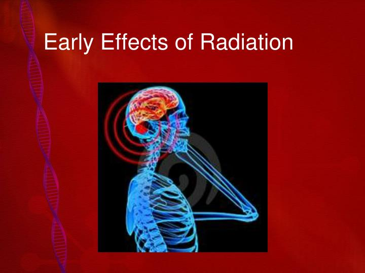 Early effects of radiation