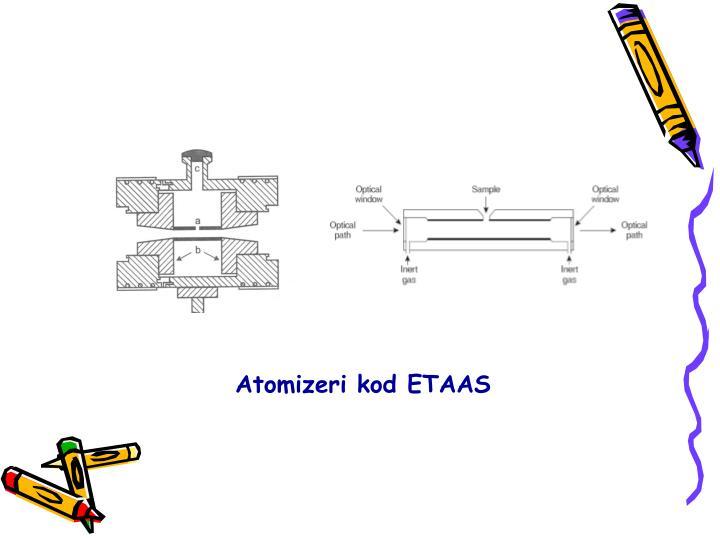 Atomizeri kod ETAAS