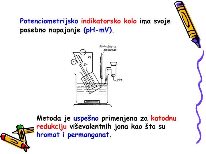 Potenciometrijsko