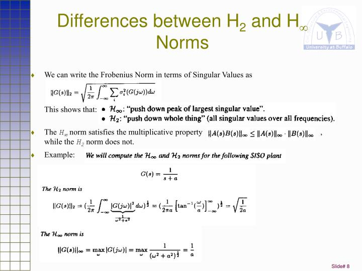 Differences between H