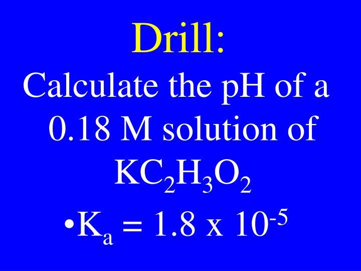 Drill:
