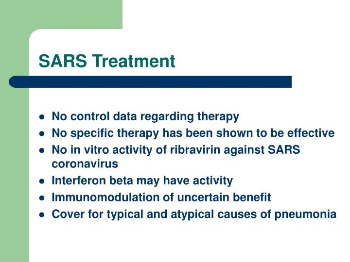 SARS Treatment