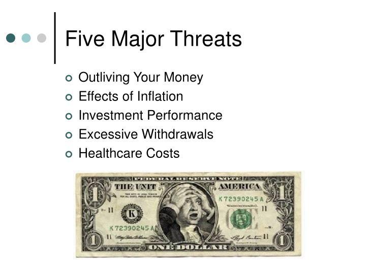 Five Major Threats
