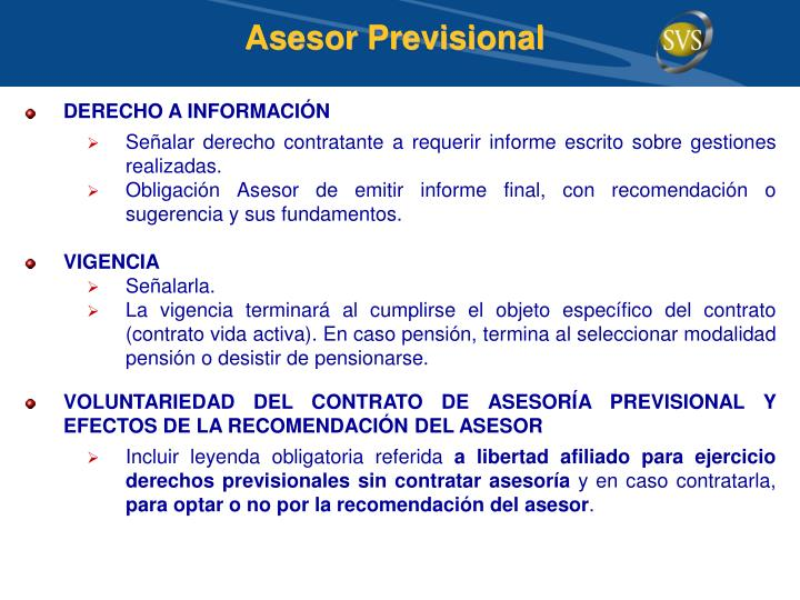 Asesor Previsional