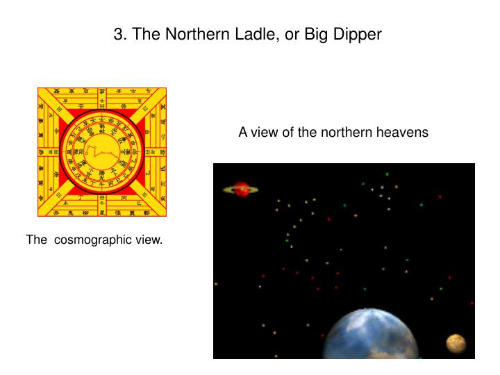 3. The Northern Ladle, or Big Dipper