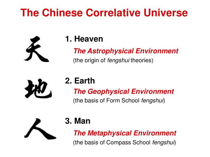 The Chinese Correlative Universe
